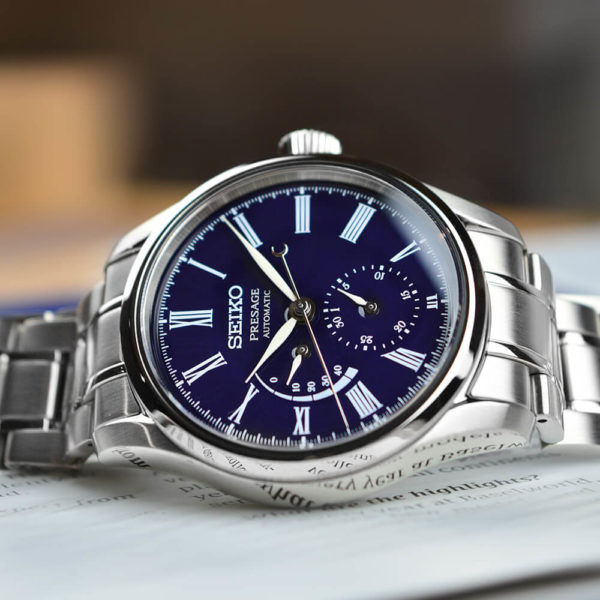 Мужские наручные часы SEIKO Presage Enamel Dial SPB091J1 - Фото № 8