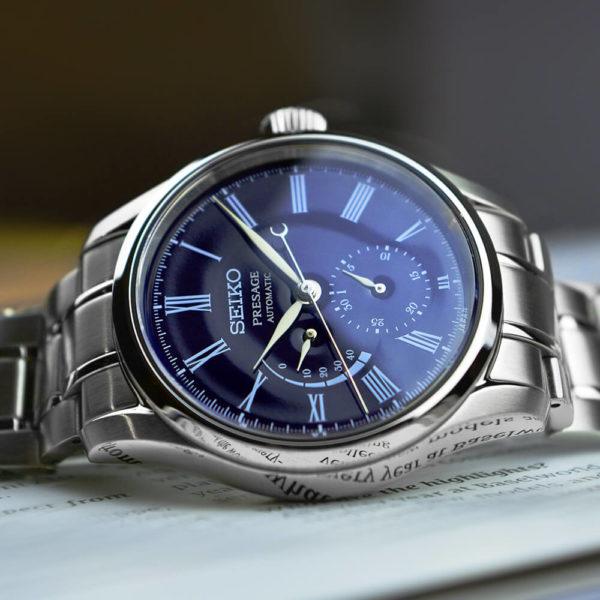 Мужские наручные часы SEIKO Presage Enamel Dial SPB091J1 - Фото № 9
