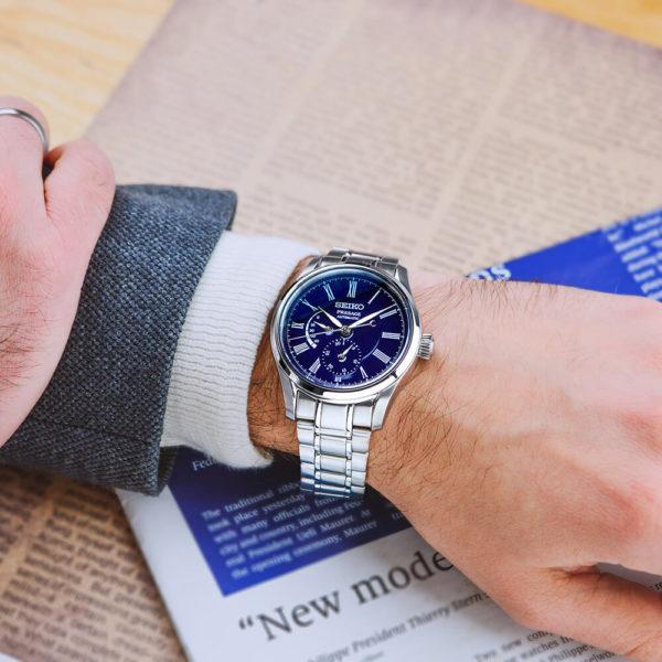 Мужские наручные часы SEIKO Presage Enamel Dial SPB091J1 - Фото № 7