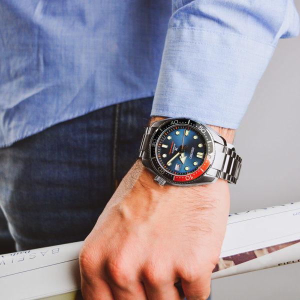 Мужские наручные часы SEIKO Prospex Twilight Blue Special Edition SPB097J1 - Фото № 12