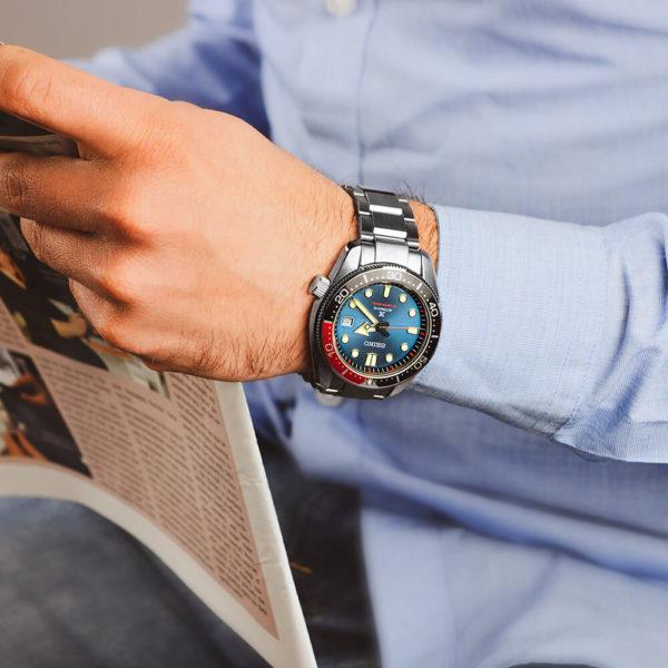 Мужские наручные часы SEIKO Prospex Twilight Blue Special Edition SPB097J1 - Фото № 11