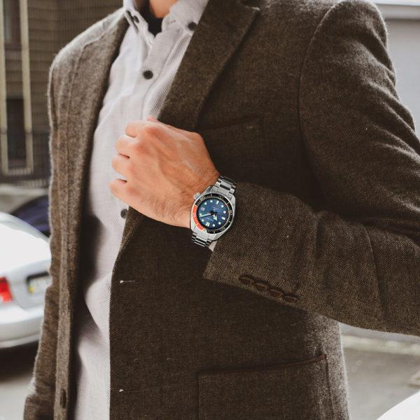 Мужские наручные часы SEIKO Prospex Twilight Blue Special Edition SPB097J1 - Фото № 13