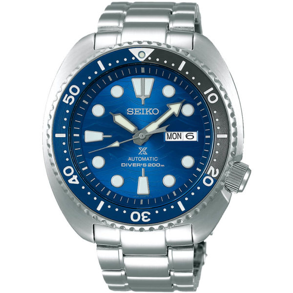 Мужские наручные часы SEIKO Prospex Turtle Save the Ocean Great White Shark SRPD21K1 - Фото № 8
