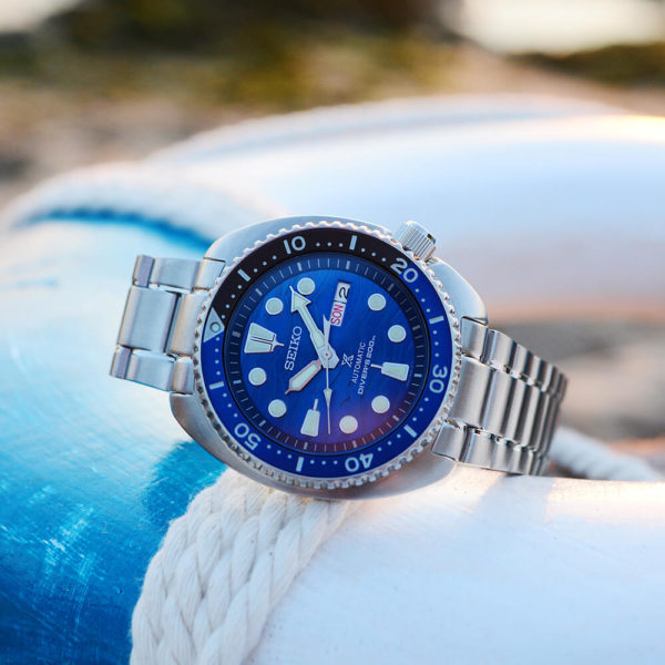 Мужские наручные часы SEIKO Prospex Turtle Save the Ocean Great White Shark SRPD21K1 - Фото № 12