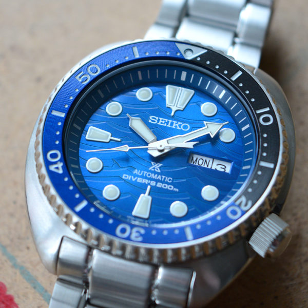 Мужские наручные часы SEIKO Prospex Turtle Save the Ocean Great White Shark SRPD21K1 - Фото № 14