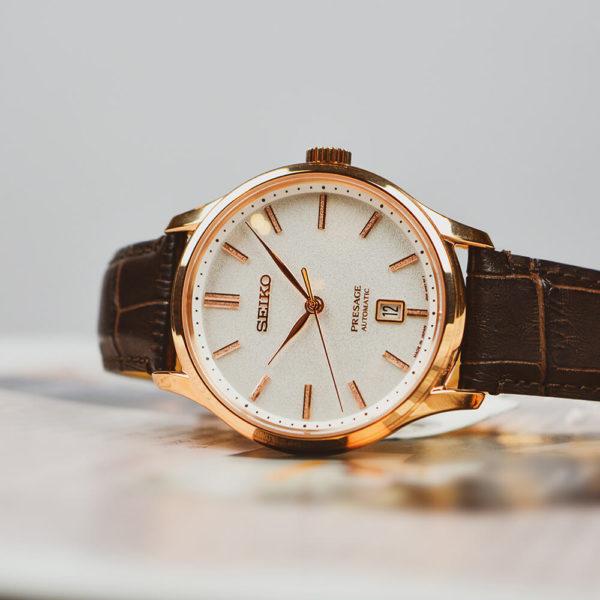 Мужские наручные часы SEIKO Presage Japanese Garden SRPD42J1 - Фото № 6