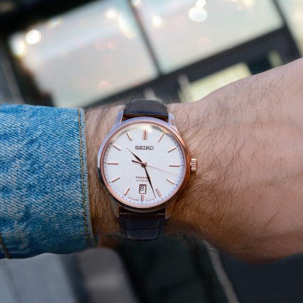 Мужские наручные часы SEIKO Presage Japanese Garden SRPD42J1 - Фото № 7