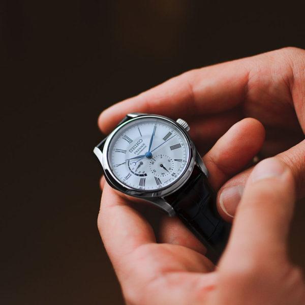 Мужские наручные часы SEIKO Presage Enamel Dial SPB045J1 - Фото № 12