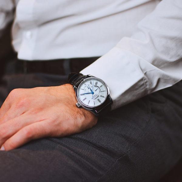 Мужские наручные часы SEIKO Presage Enamel Dial SPB045J1 - Фото № 11