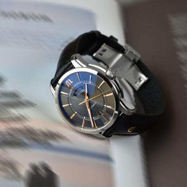 Мужские наручные часы MAURICE LACROIX Pontos PT6358-SS001-331-1 - Фото № 13
