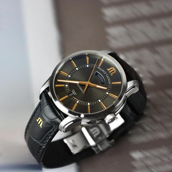Мужские наручные часы MAURICE LACROIX Pontos PT6358-SS001-331-1 - Фото № 10