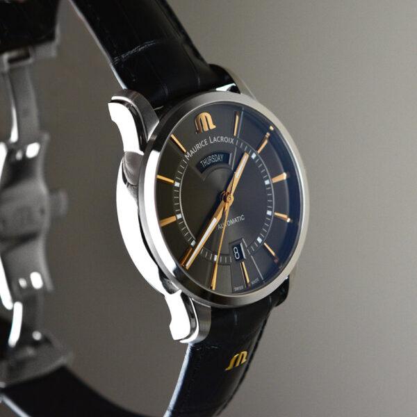 Мужские наручные часы MAURICE LACROIX Pontos PT6358-SS001-331-1 - Фото № 11