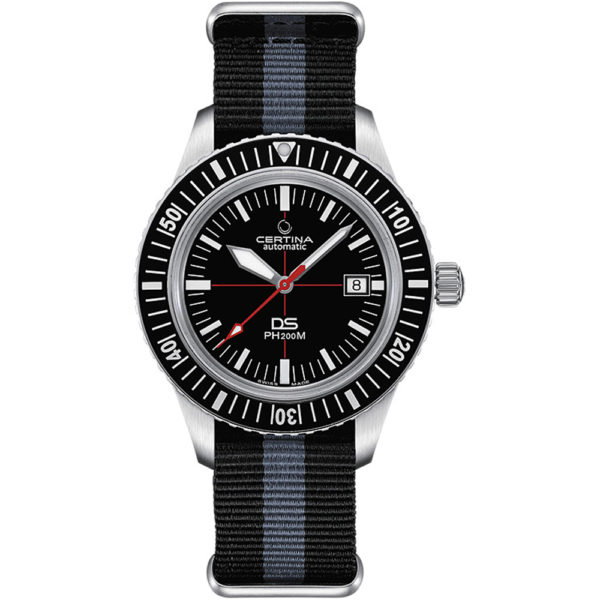 Мужские наручные часы CERTINA Heritage DS PH200M Powermatic 80 C036.407.16.050.00 - Фото № 6