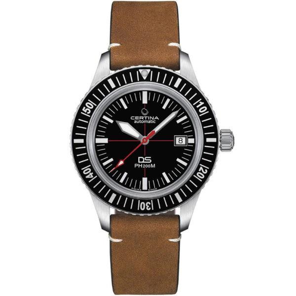 Мужские наручные часы CERTINA Heritage DS PH200M Powermatic 80 C036.407.16.050.00 - Фото № 9