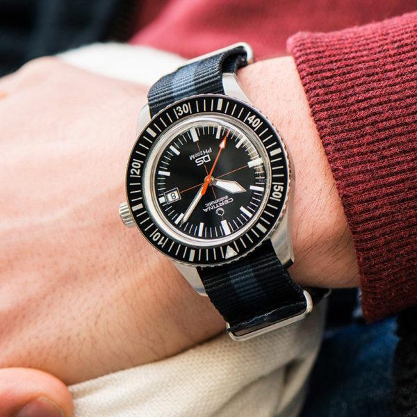Мужские наручные часы CERTINA Heritage DS PH200M Powermatic 80 C036.407.16.050.00 - Фото № 10