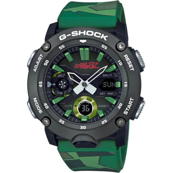 Мужские наручные часы CASIO G-Shock GA-2000GZ-3AER - Фото № 4
