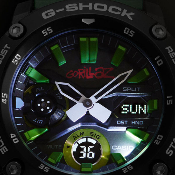 Мужские наручные часы CASIO G-Shock GA-2000GZ-3AER - Фото № 6