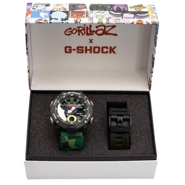 Мужские наручные часы CASIO G-Shock GA-2000GZ-3AER - Фото № 7