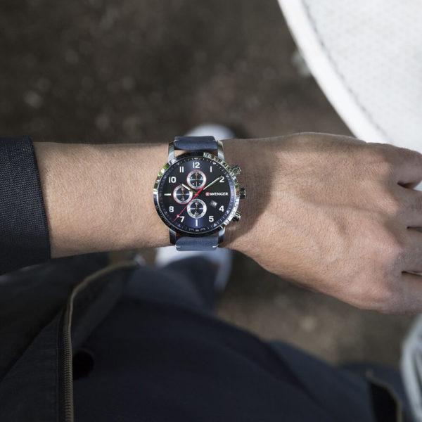 Мужские наручные часы WENGER Attitude W01.1543.109 - Фото № 6