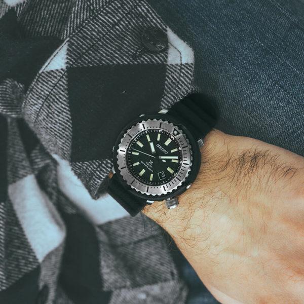 Мужские наручные часы SEIKO Prospex SNE541P1 - Фото № 9