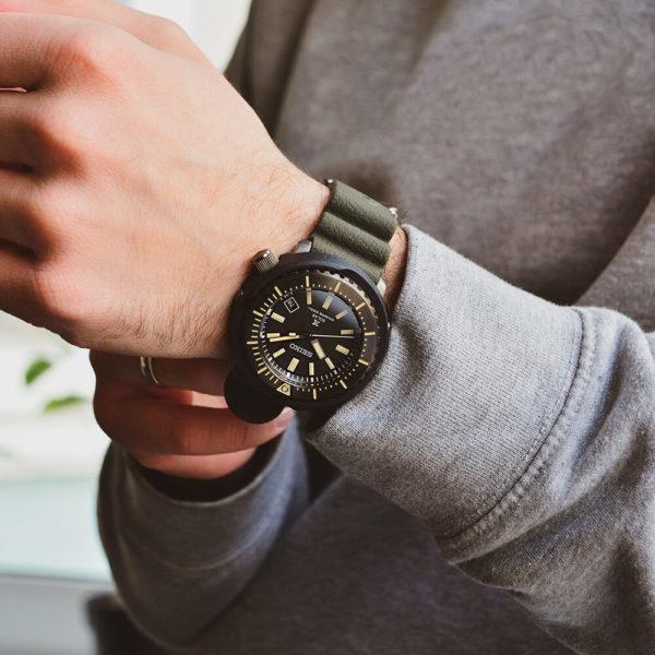 Мужские наручные часы SEIKO Prospex Tuna SNE543P1 - Фото № 6