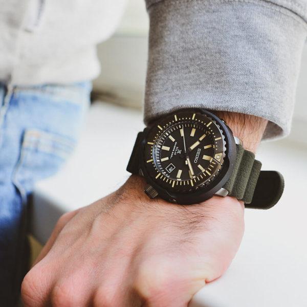 Мужские наручные часы SEIKO Prospex Tuna SNE543P1 - Фото № 7