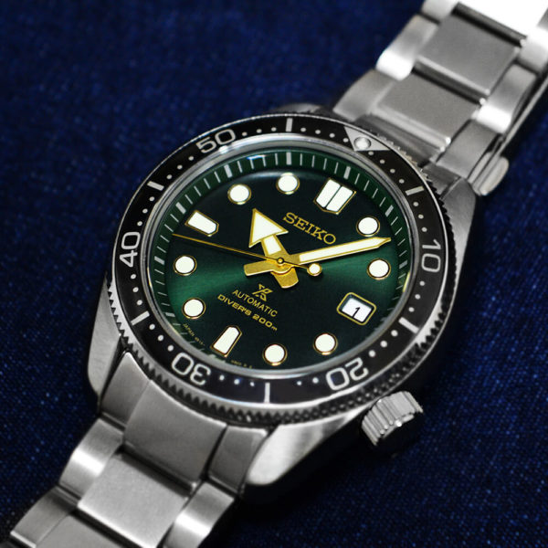 Мужские наручные часы SEIKO Prospex Green Sunset SPB105J1 - Фото № 11