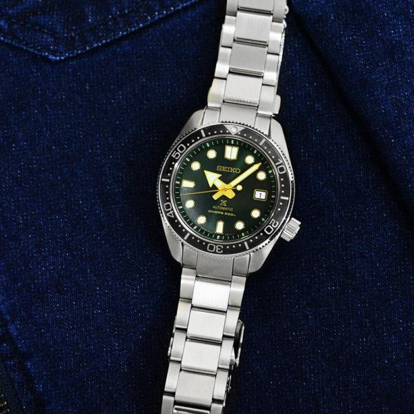 Мужские наручные часы SEIKO Prospex Green Sunset SPB105J1 - Фото № 12