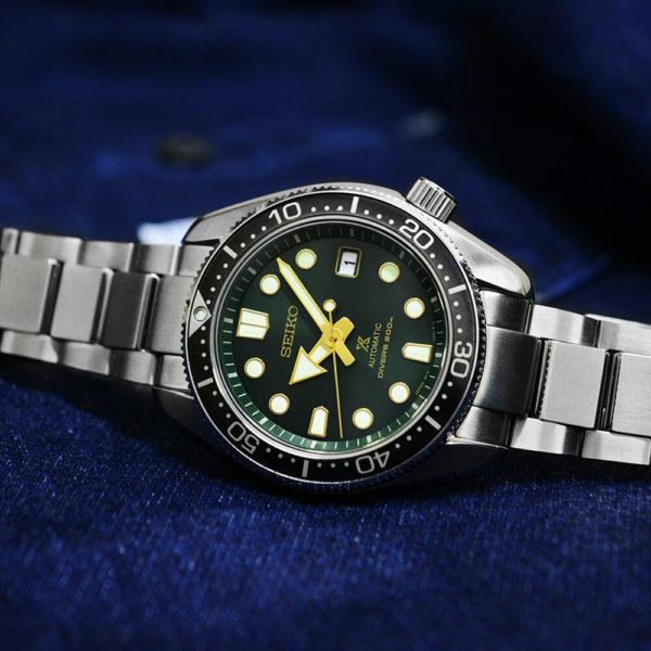 Мужские наручные часы SEIKO Prospex Green Sunset SPB105J1 - Фото № 10