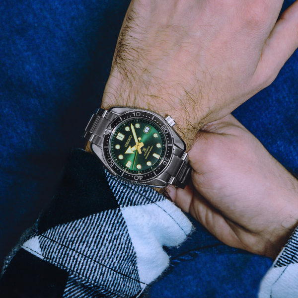 Мужские наручные часы SEIKO Prospex Green Sunset SPB105J1 - Фото № 9