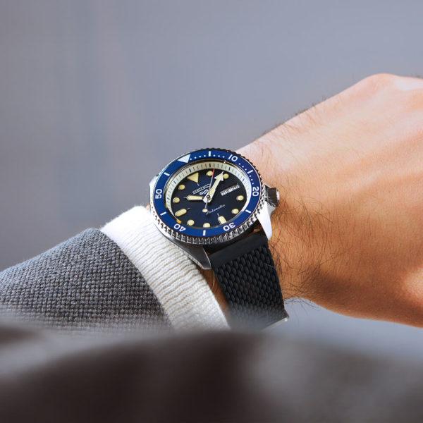 Мужские наручные часы SEIKO Seiko 5 Suits SRPD71K2 - Фото № 8