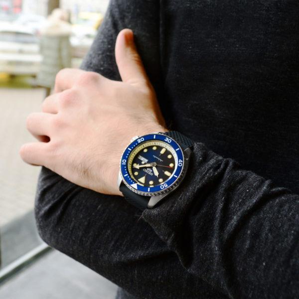 Мужские наручные часы SEIKO Seiko 5 Suits SRPD71K2 - Фото № 10