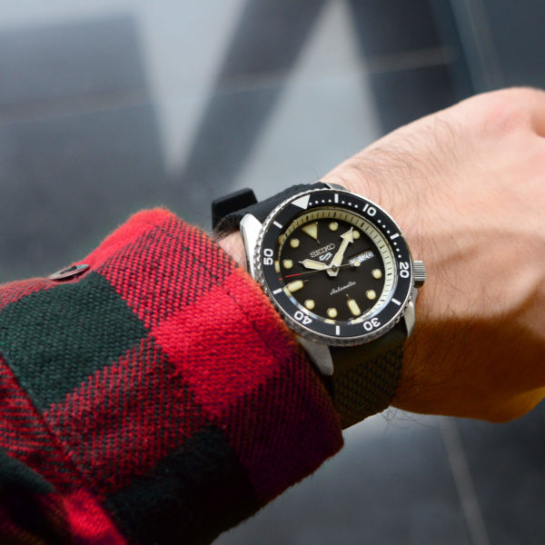 Мужские наручные часы SEIKO Seiko 5 SRPD73K2 - Фото № 8