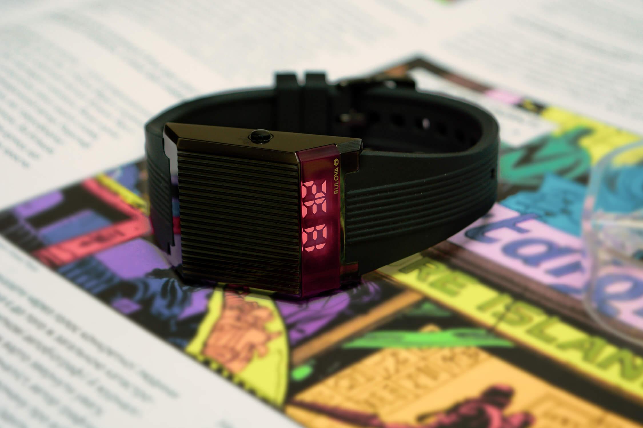 часы булова компутрон 98C135