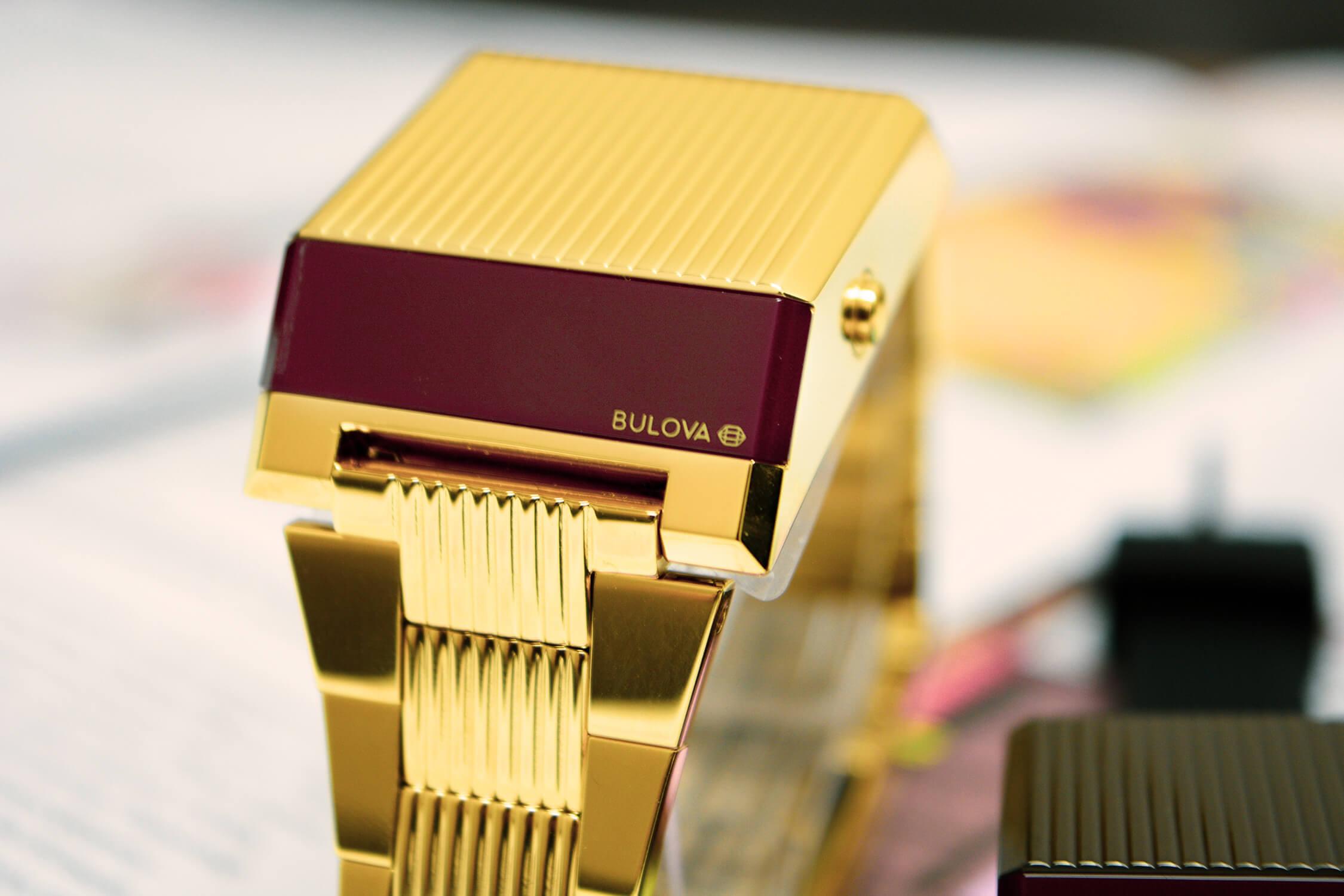 часы bulova computron 97C110