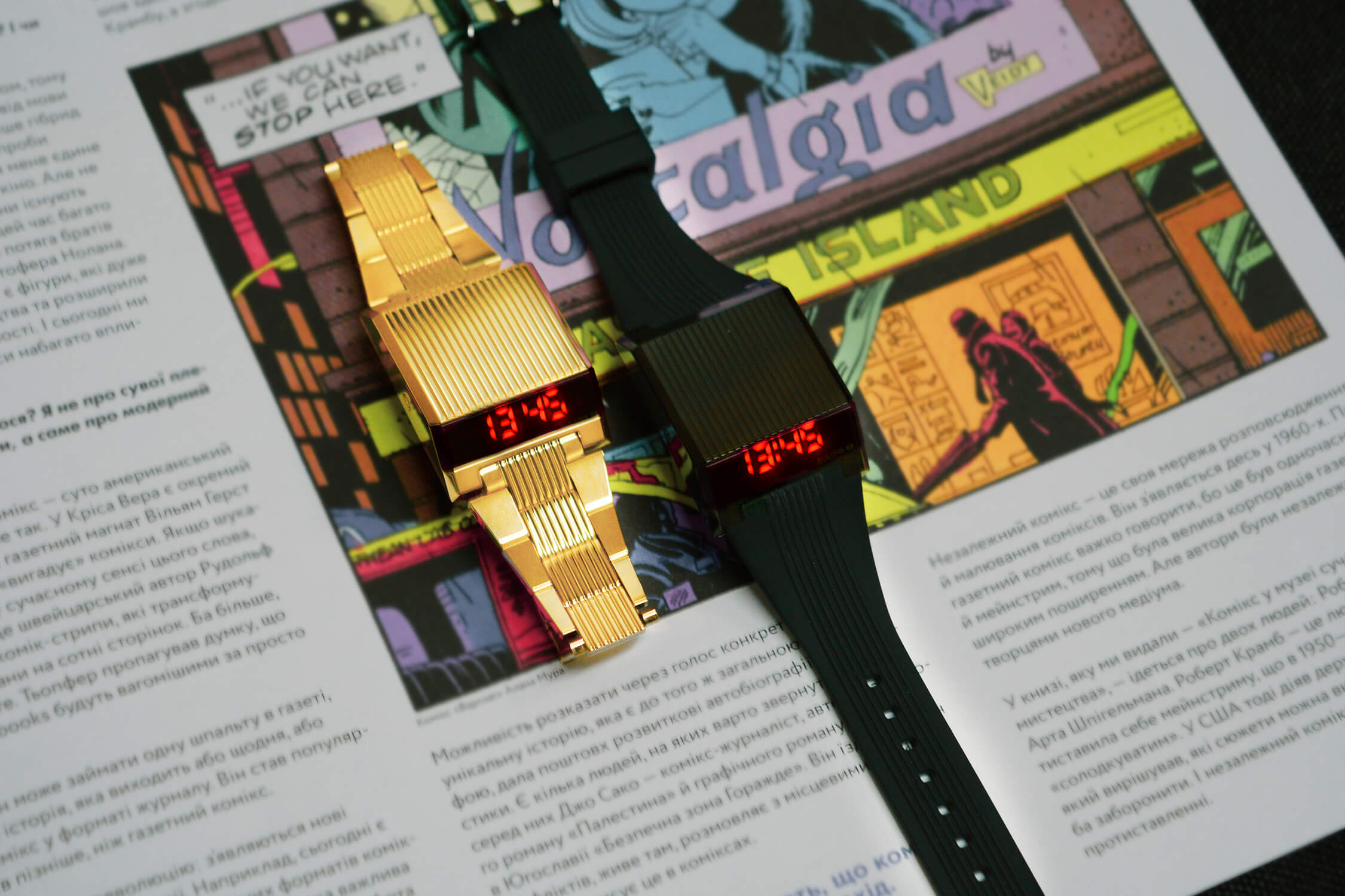 американские часы булова компутрон