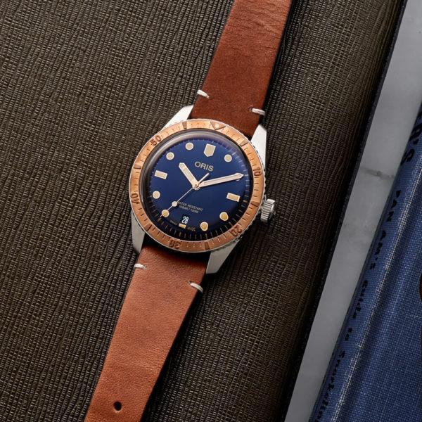 Мужские наручные часы ORIS DIVERS 01 733 7707 4355-07 5 20 45 - Фото № 7