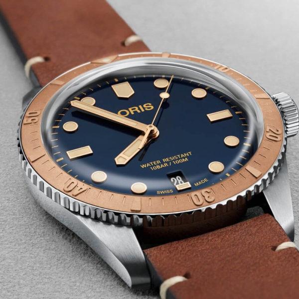 Мужские наручные часы ORIS DIVERS 01 733 7707 4355-07 5 20 45 - Фото № 8