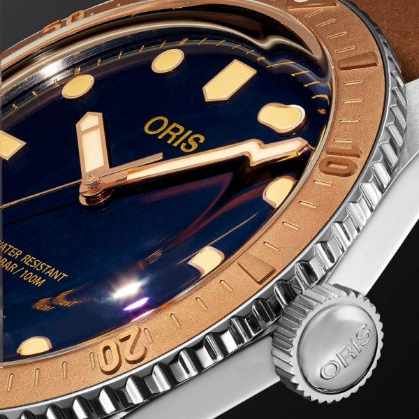 Мужские наручные часы ORIS DIVERS 01 733 7707 4355-07 5 20 45 - Фото № 9