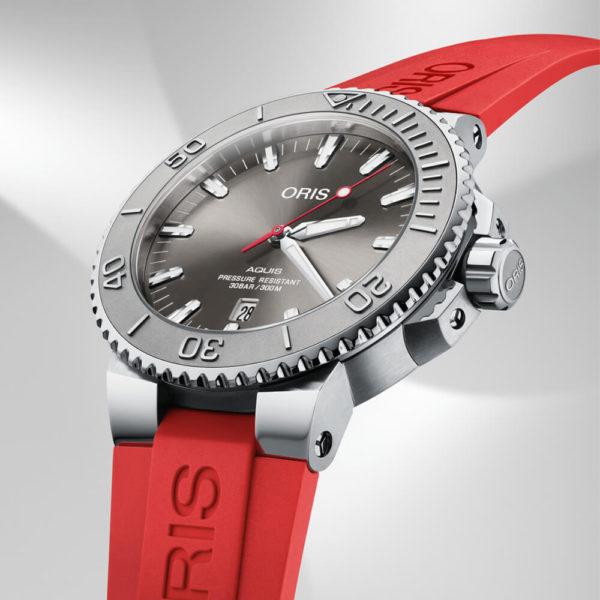 Мужские наручные часы ORIS AQUIS 01 733 7730 4153-07 4 24 66EB - Фото № 7
