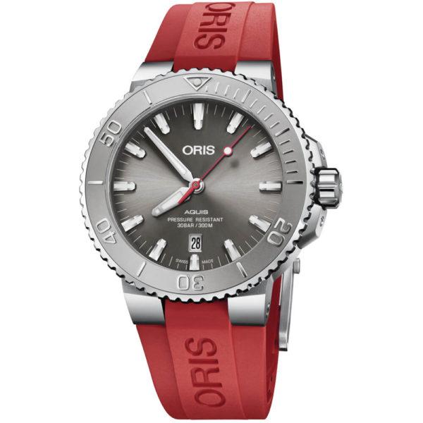 Мужские наручные часы ORIS AQUIS 01 733 7730 4153-07 4 24 66EB - Фото № 4