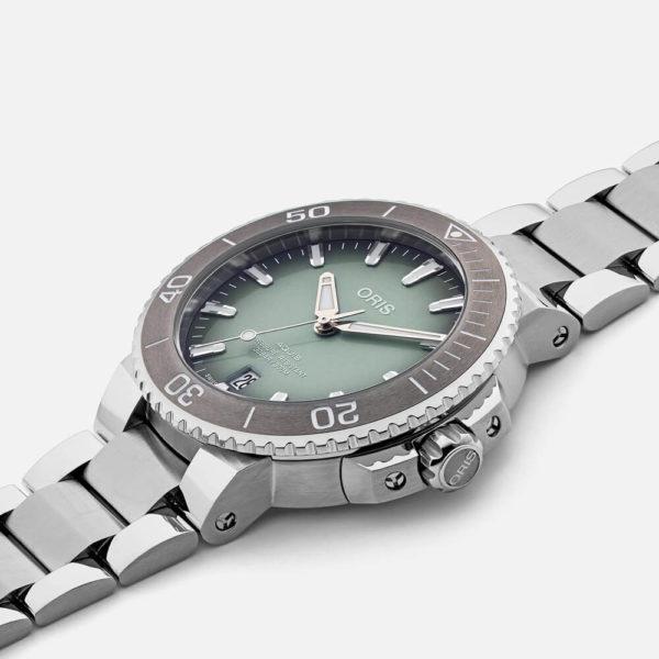 Мужские наручные часы ORIS AQUIS 01 733 7732 4137-07 8 21 05PEB - Фото № 6