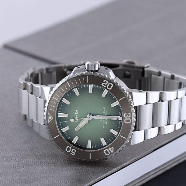 Мужские наручные часы ORIS AQUIS 01 733 7732 4137-07 8 21 05PEB - Фото № 7