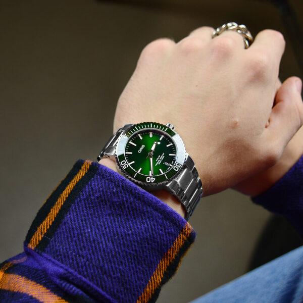 Мужские наручные часы ORIS AQUIS 01 733 7732 4157-07 8 21 05PEB - Фото № 6