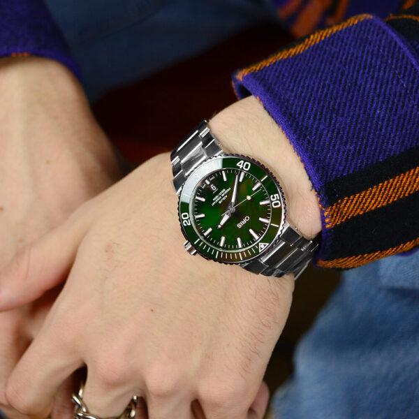 Мужские наручные часы ORIS AQUIS 01 733 7732 4157-07 8 21 05PEB - Фото № 7