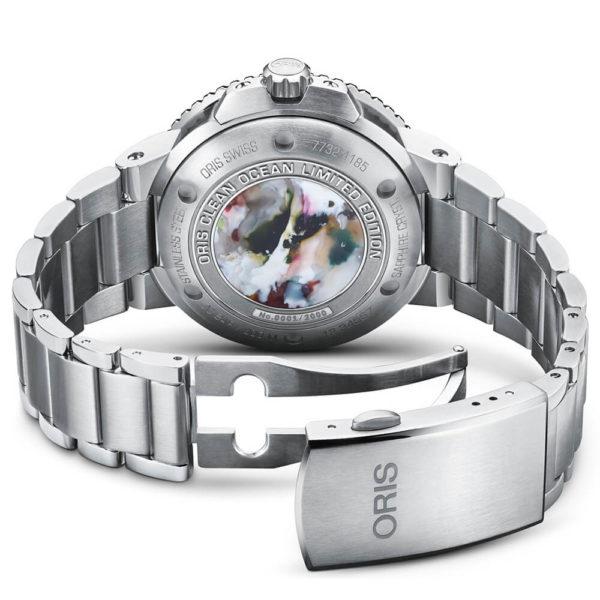 Мужские наручные часы ORIS AQUIS Clean Ocean Limited Edition 01 733 7732 4185-Set - Фото № 10