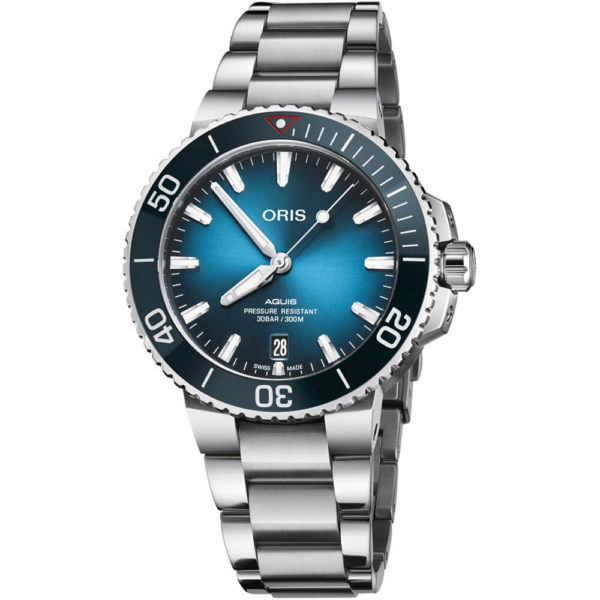 Мужские наручные часы ORIS AQUIS Clean Ocean Limited Edition 01 733 7732 4185-Set - Фото № 6