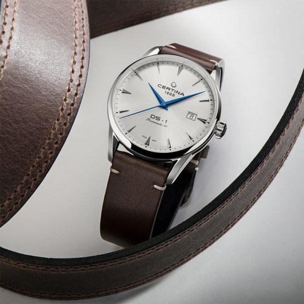 Мужские наручные часы CERTINA Urban DS-1 Powermatic 80 C029.807.11.031.02 - Фото № 12