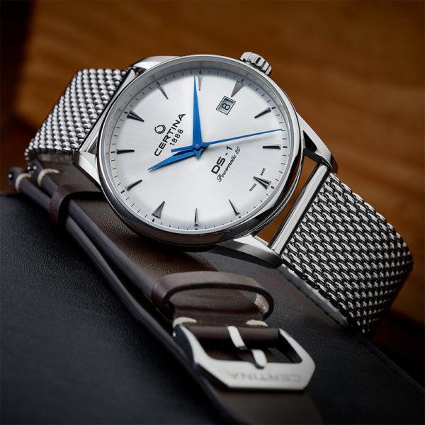 Мужские наручные часы CERTINA Urban DS-1 Powermatic 80 C029.807.11.031.02 - Фото № 10
