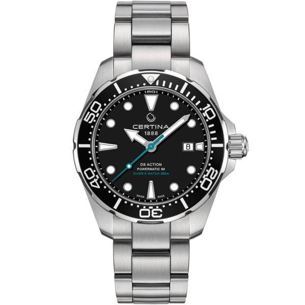 Мужские наручные часы CERTINA Aqua DS Action Diver Powermatic 80 Sea Turtle Conservancy Special Edition C032.407.11.051.10 - Фото № 8
